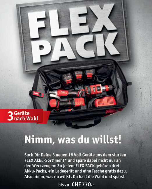 Aktion Flex Pack SanReMo